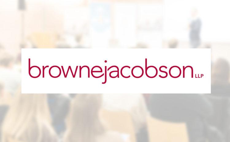 CPD Webinar Browne Jacobson