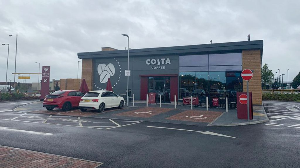 Costa Opens new DT at Liverpool