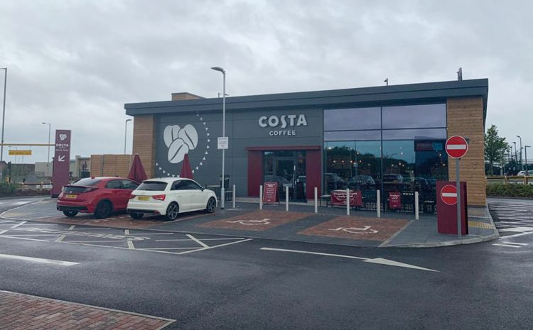 Costa Opens new DT at Liverpool Speke 09/07/20