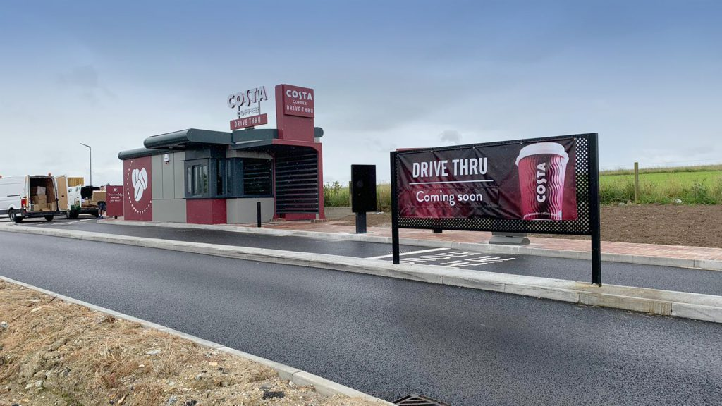 Costa opens new Drive Thru